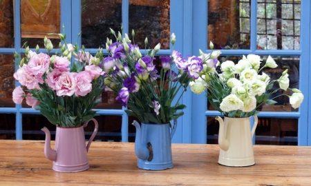 12 έξυπνες ιδέες για να διακοσμήσετε το σπίτι σας με λουλούδια