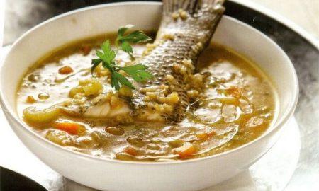 Ψαρόσουπα με «τραχανά» από τη Λήμνο