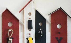 4 DIY ιδέες για κλειδοθήκη τοίχου
